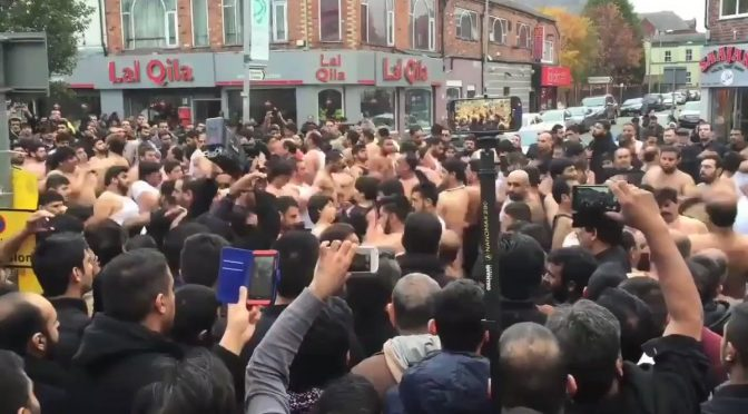 Islam: flagellazioni rituali in Inghilterra – VIDEO