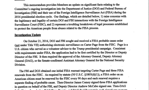Dossier svela complotto, così FBI e Obama hanno intercettato Trump