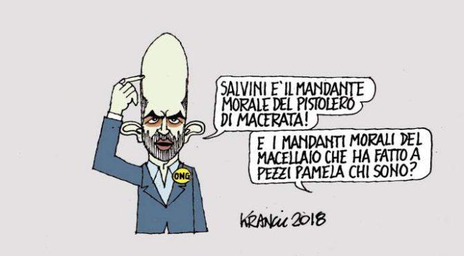 Sondaggio choc su Macerata: maggioranza italiani d'accordo con Salvini