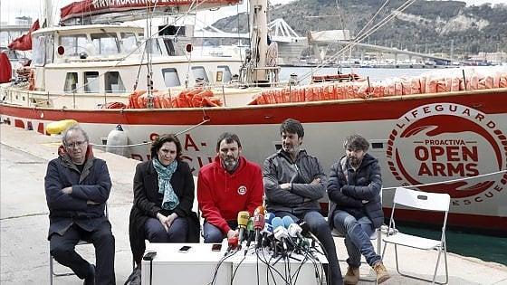 Sequestro Open Arms: trafficanti Ong già pronti con un'altra nave