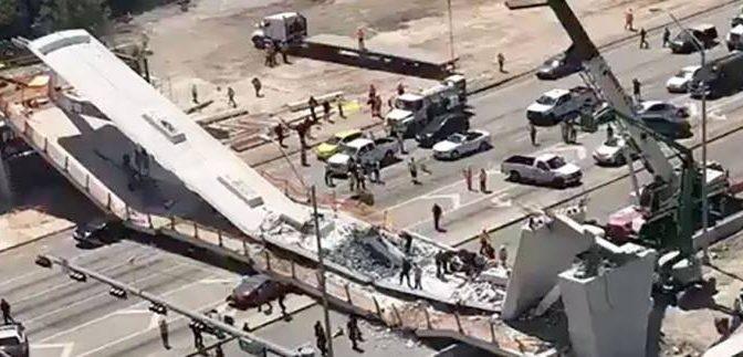 """Miami, crolla ponte: """"Molti morti sotto macerie"""" – VIDEO"""