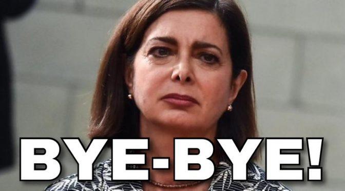 Salvini saluta Boldrini, lei si offende