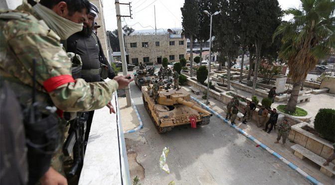 Nato complice del massacro turco ad Afrin, migliaia i morti
