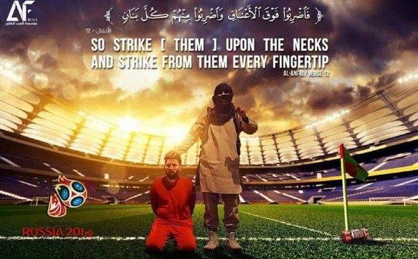 Isis minaccia i Mondiali, Messi 'decapitato' in fotomontaggio