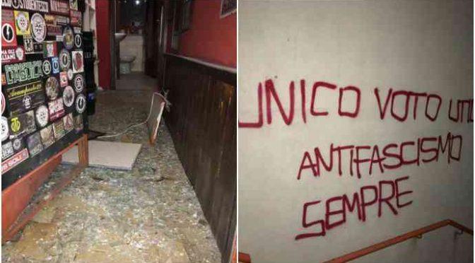 Bomba contro sede CasaPound a Trento