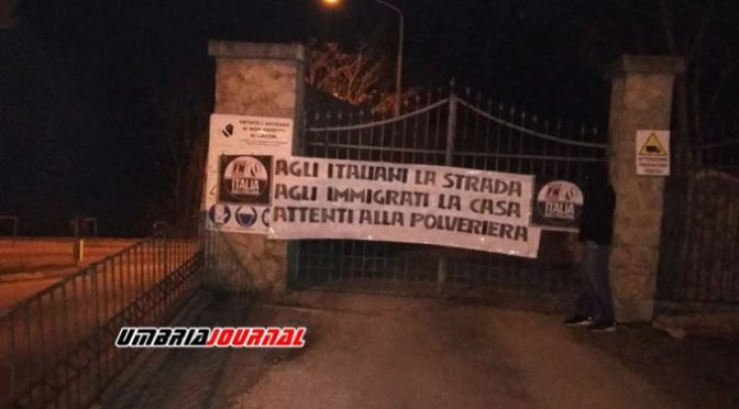 Perugia, profughi in case popolari: protestano Lega e Forza Nuova