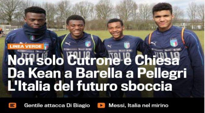 L'Italia futura secondo Gazzetta è nera – FOTO CHOC