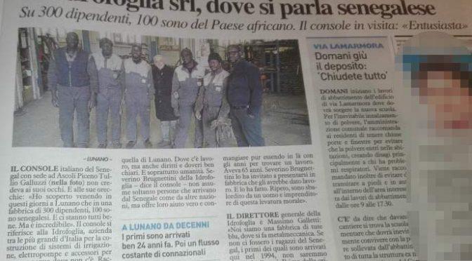 """L'imprenditore che assume solo Senegalesi: """"Italiani non vogliono lavorare"""""""