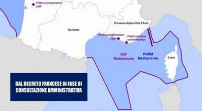 Francia annette mare italiano, governo inerte