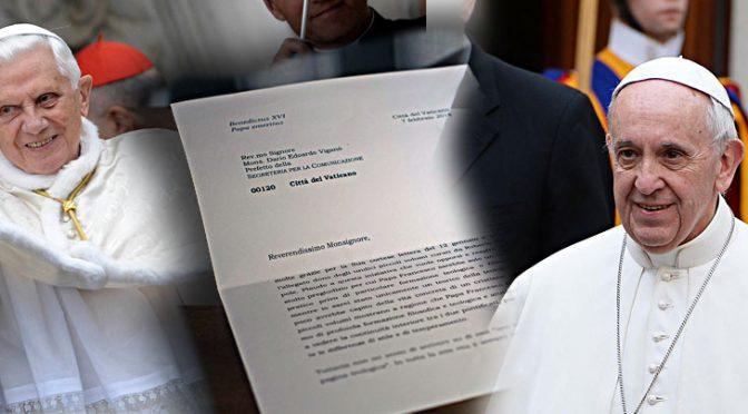 Lettera Ratzinger, si dimette mr. Photoshop