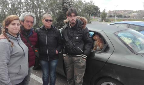 Roma, famiglia italiana vive in auto – VIDEO