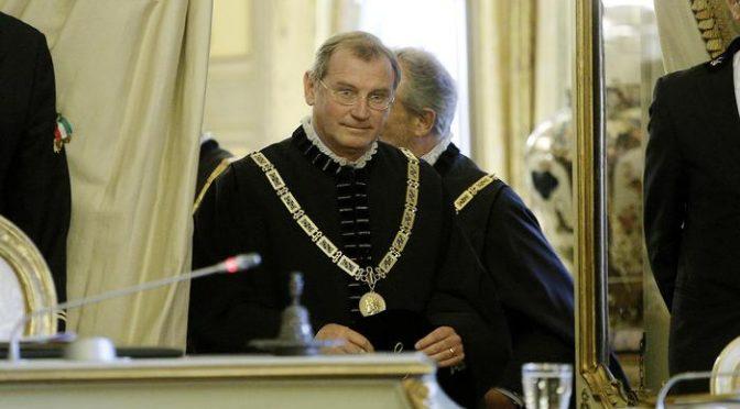Consulta: giudice nominato da Napolitano è indagato, si dimette