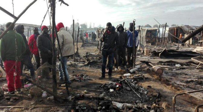 Nigeriana ordina incendio baraccopoli, in Italia