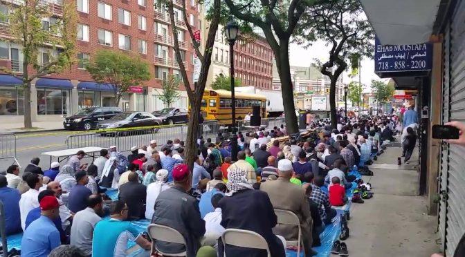 Scene islamapocalittiche da New York – VIDEO