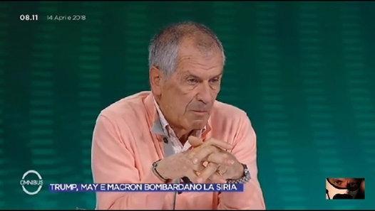 Il generale italiano smonta accuse ad Assad, gas usato dai ribelli – VIDEO