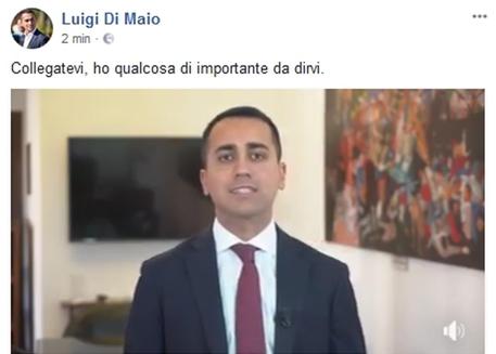 Di Maio inaffidabile, dall'impeachment al dietrofront su Savona