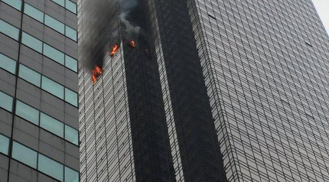 NY: Incendio alla Trump Tower – VIDEO