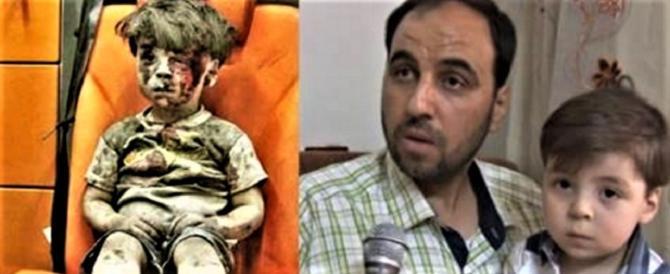 Padre di Omran sta con Assad: la sua foto una fake news