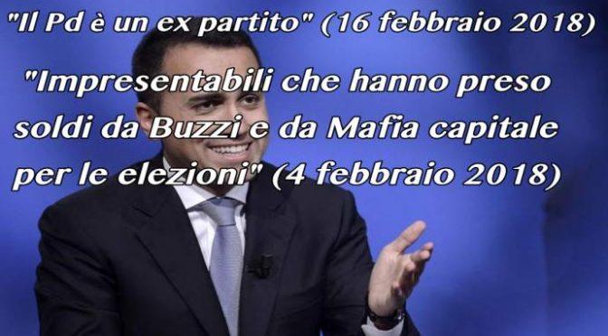 """Giorgetti saluta Di Maio: """"Non conta più un caxxo"""""""