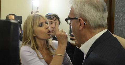 Macerata: scontro 'fisico' tra Mussolini e sindaco – VIDEO