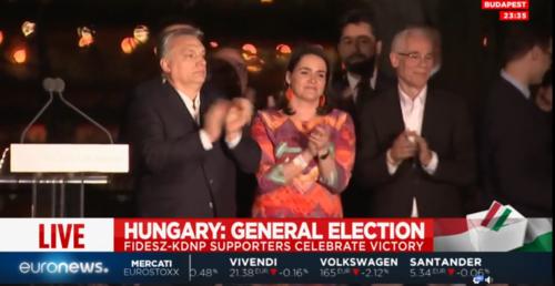 """Orban celebra trionfo: """"Gloria alla Patria e a Dio"""""""