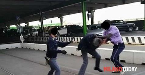 Non lo lasciano spacciare: marocchino spacca costole e naso ad agenti
