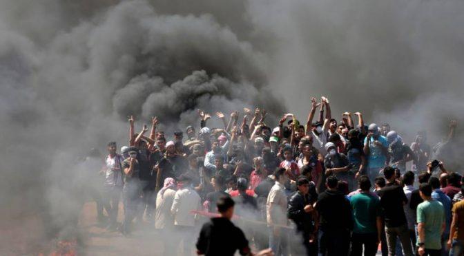 Battaglia per le frontiere, Israele respinge islamici: 55 morti e 2.400 feriti