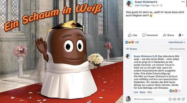 Royal wedding, Meghan Markle diventa un cioccolatino: razzismo!