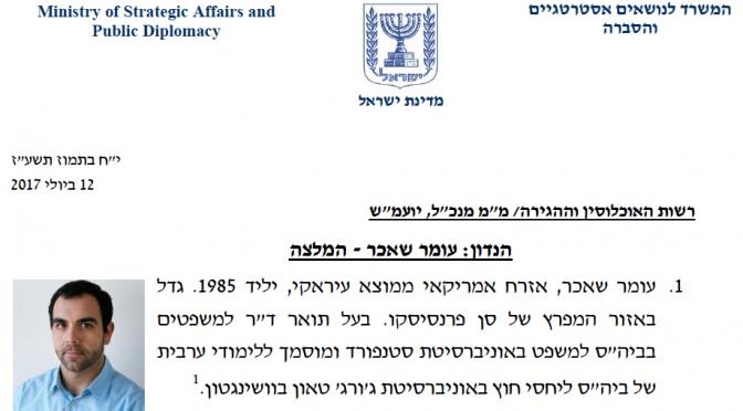 Israele come Orban, caccia ong Soros: fuori direttore di HRW