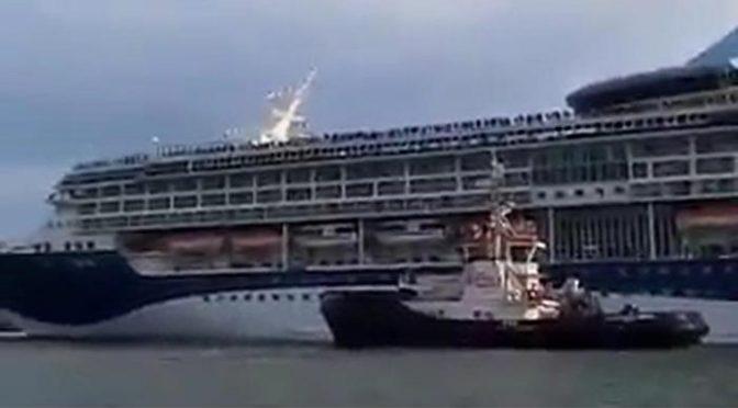 Nave da crociera in avaria a Venezia, è tempo di bandirle