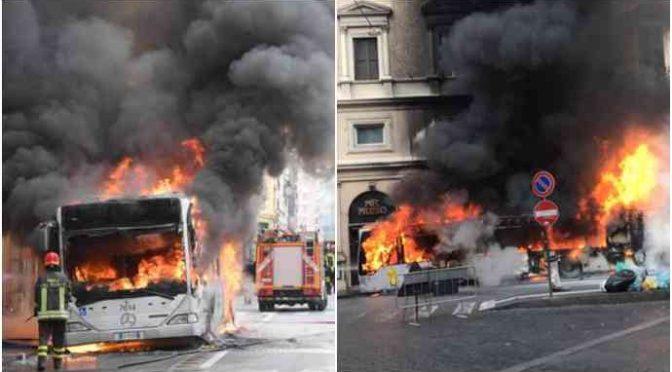 Roma: coi soldi spesi per i profughi ospitati in città, si compravano 250 bus nuovi