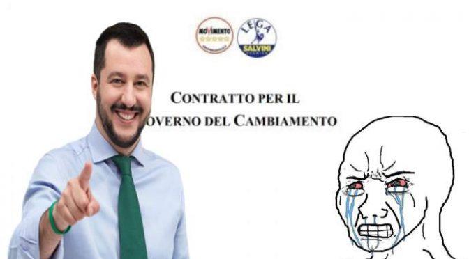 Prima gli Italiani: Lega e M5s approvano il Contratto
