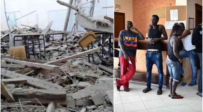 Crolla tetto in scuola Fermo, ma spendono 8 milioni di euro per ospitare profughi in città