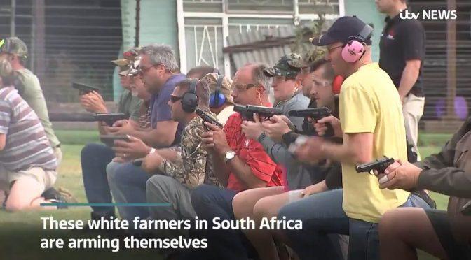Sudafrica: i bianchi si armano per difendersi