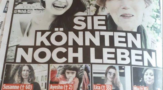 Bild accusa Merkel: senza clandestini, queste donne sarebbero ancora vive