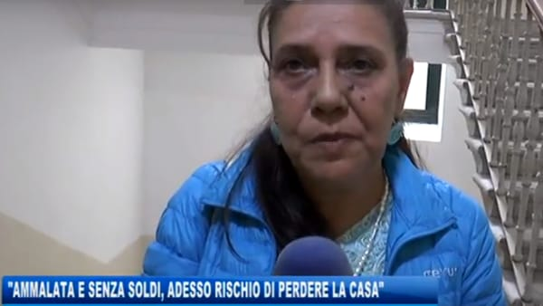 Senza un polmone ora le tolgono anche la pensione, tanto è italiana