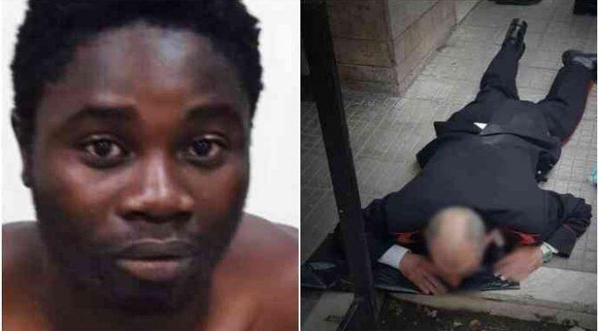 Carabiniere steso a sprangate: profugo già libero e in hotel
