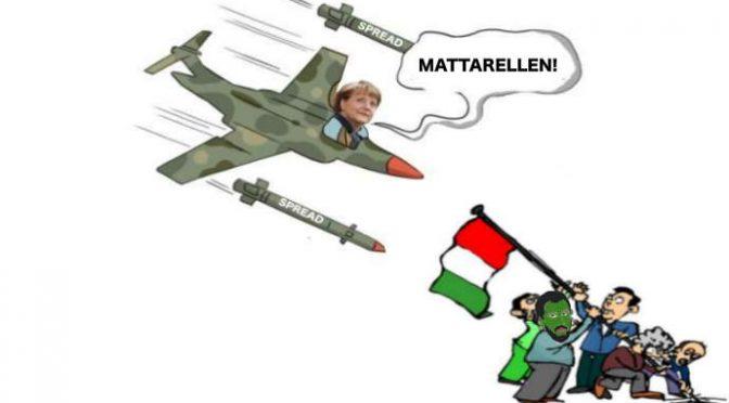 E' ATTACCO ALL'ITALIA: UE E MERKEL BOMBARDANO ITALIANI CON LO SPREAD