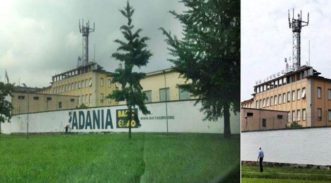 """Lega cancella scritta """"Padania"""" dalla sede di via Bellerio: completata svolta nazionalista"""