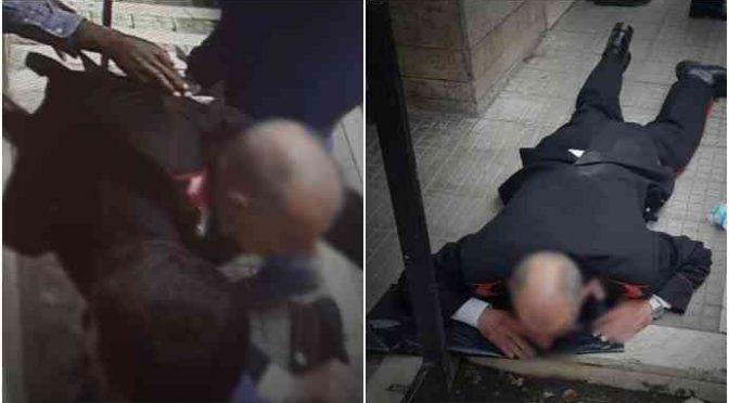 """Sprangato dal profugo: """"Certo di morire, salvato da collega"""""""