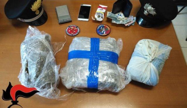 Trovati 2 kg di droga sotto al letto del profugo