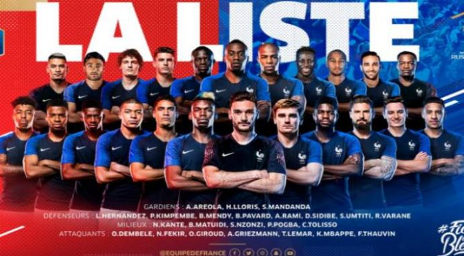 Russia18, ct Francia dirama lista: solo 6 francesi su 23 convocati