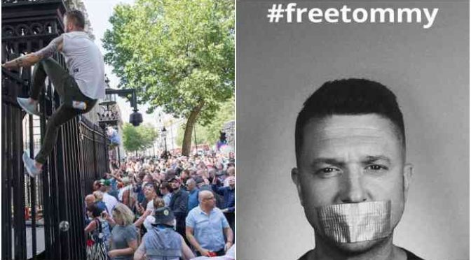 YouTube censura il 'mostro' Tommy Robinson