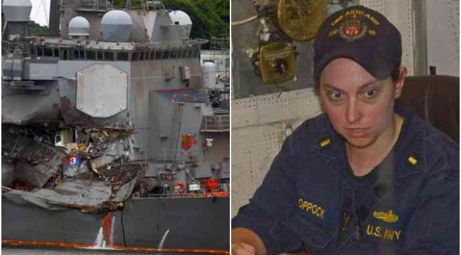 Donna al comando, nave Marina Usa si schianta: 7 morti
