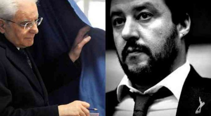 """Il governo populista è pronto e Salvini sferza Mattarella: """"Einaudi va letto tutto"""""""