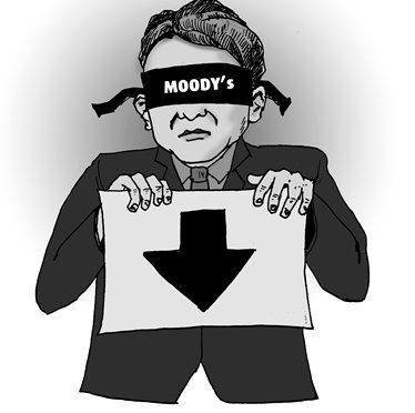 Attacco concentrico, Moody's minaccia downgrade Italia