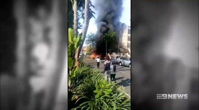 Un'altra famiglia islamica si fa esplodere, stavolta troppo presto – VIDEO