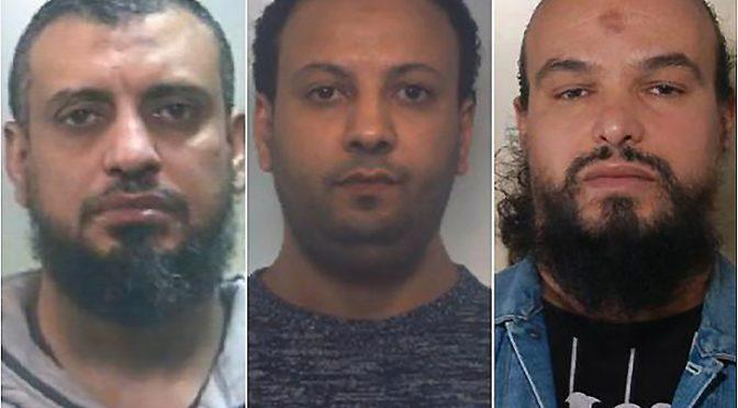Sconto di pena per 3 terroristi islamici – FOTO