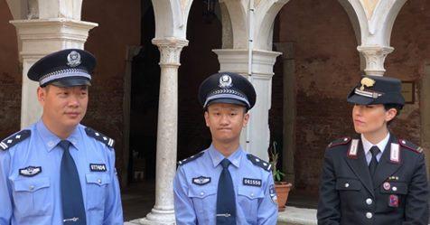 Ecco i poliziotti cinesi che pattugliano Venezia – VIDEO