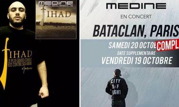 Bataclan: rapper islamista si esibirà nel teatro della strage islamica